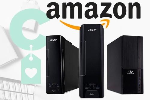 Esta semana, Amazon tiene varios modelos de PC de sobremesa con los que ahorrar algo de dinero