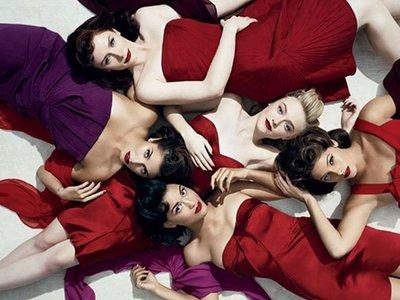Las chicas 'Crepúsculo' posan sensacionales en Vanity Fair sin Kristen Stewart