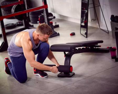 Banco Musculacion Reforzado Inclinable Reclinable