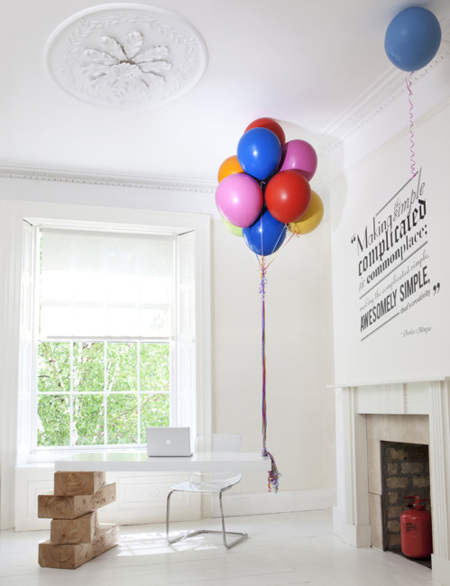 Recepción globos