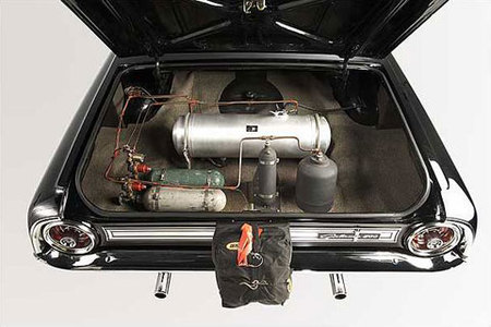 1964 Ford Galaxie Rocket Axle Drag Car