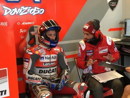 Andrea Dovizioso Gp Gran Bretana Motogp 2018
