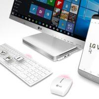 LG lanza VPInput, una app para controlar los LG G5, G4 y V10 con el ordenador