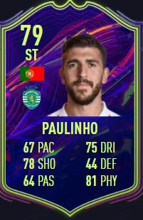 Paulinho FIFA 22 ones to watch promesas