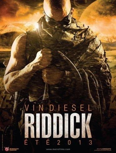 El teaser póster de Riddick