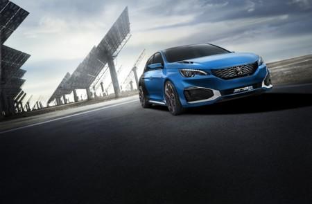 Peugeot 308 R HYbrid, 500 hp y tracción AWD