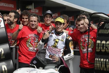 Marc Márquez, Campeón del Mundo de Moto2 2012