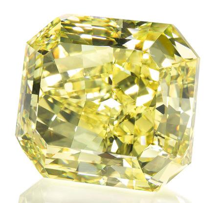 Fancy Vivid Yellow Diamond 70 cts