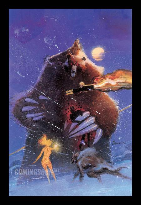 El oso místico