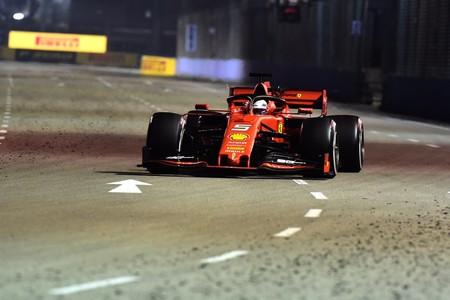 Vettel Singapur F1 2019 2