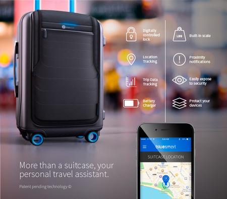 BlueSmart, la maleta inteligente que pretende ser nuestra mejor compañera de viaje