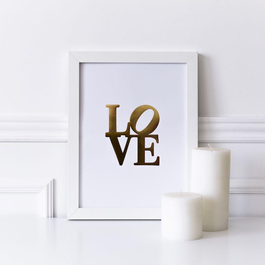 Lámina LOVE