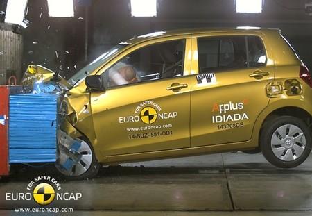 Suzuki Celerio Euro Ncap Nov 2014 01
