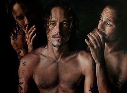 El cuadro de Heath Ledger
