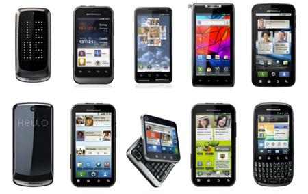 Teléfonos Moto