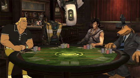 Poker Night 2 llega a PC acompañado de Claptrap, Ash Williams y GLaDOS