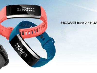 Huawei Band 2 y Band 2 Pro: pulseras de actividad con seguimiento del sueño, GPS y medición de oxígeno