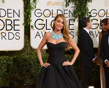 Globos de Oro 2014 (II): las estrellas de la tele lucen con glamour