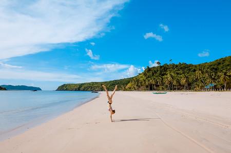 Playas De Arena Blanca Del Mundo Para Ir En Invierno Palawan Filipinas