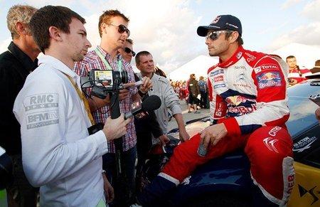 Sébastien Loeb carga contra su compañero de equipo