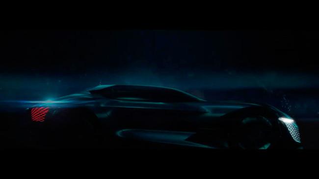 DS nos abre una ventana al futuro con este primer teaser del DSX E-Tense Concept
