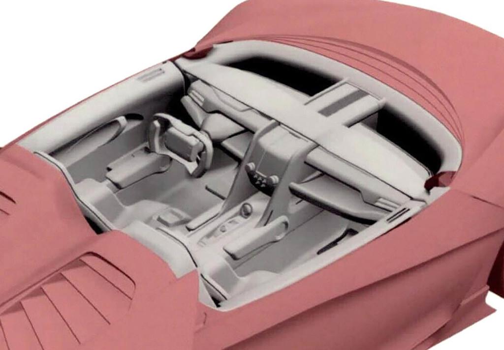 Honda ZSX interior