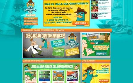El día de Perry el Ornitorrinco en España es el 1 de mayo de 2012