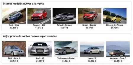 Fichas técnicas y precios de coches nuevos en Motorpasión