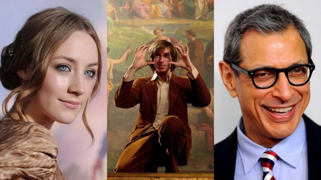 Saoirse Ronan, Wes Anderson y Jeff Goldblum