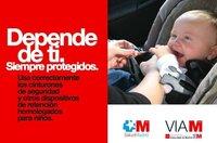 """""""Depende de ti. Siempre Protegidos"""", y la confusión en la campaña por la seguridad infantil en el coche"""