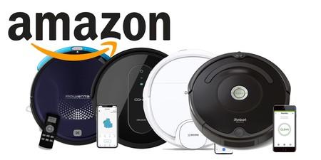 7 ofertas del día en robots aspirador en Amazon: Roomba, Rowenta, Taurus o LG a precios para todos los bolsillos