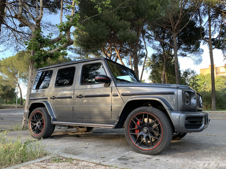 Mercedes-AMG G63 lateral