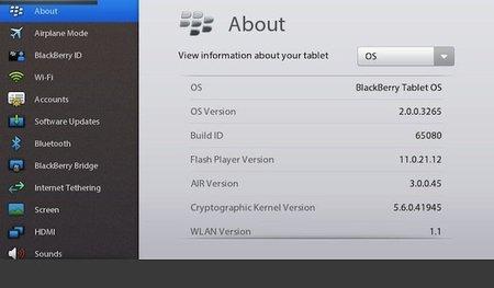 BlackBerry Playbook OS 2.0 presentado en el CES