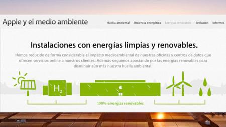 Apple a la cabeza en el uso de energías limpias y renovables
