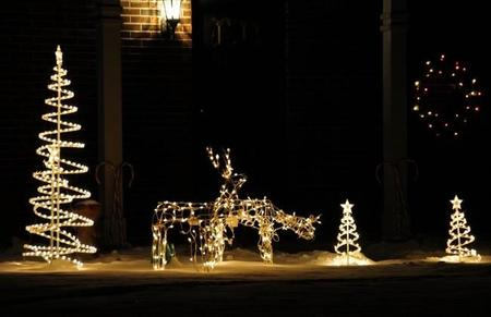 Decoraci n de navidad de estilo n rdico - Decoracion navidad exterior ...