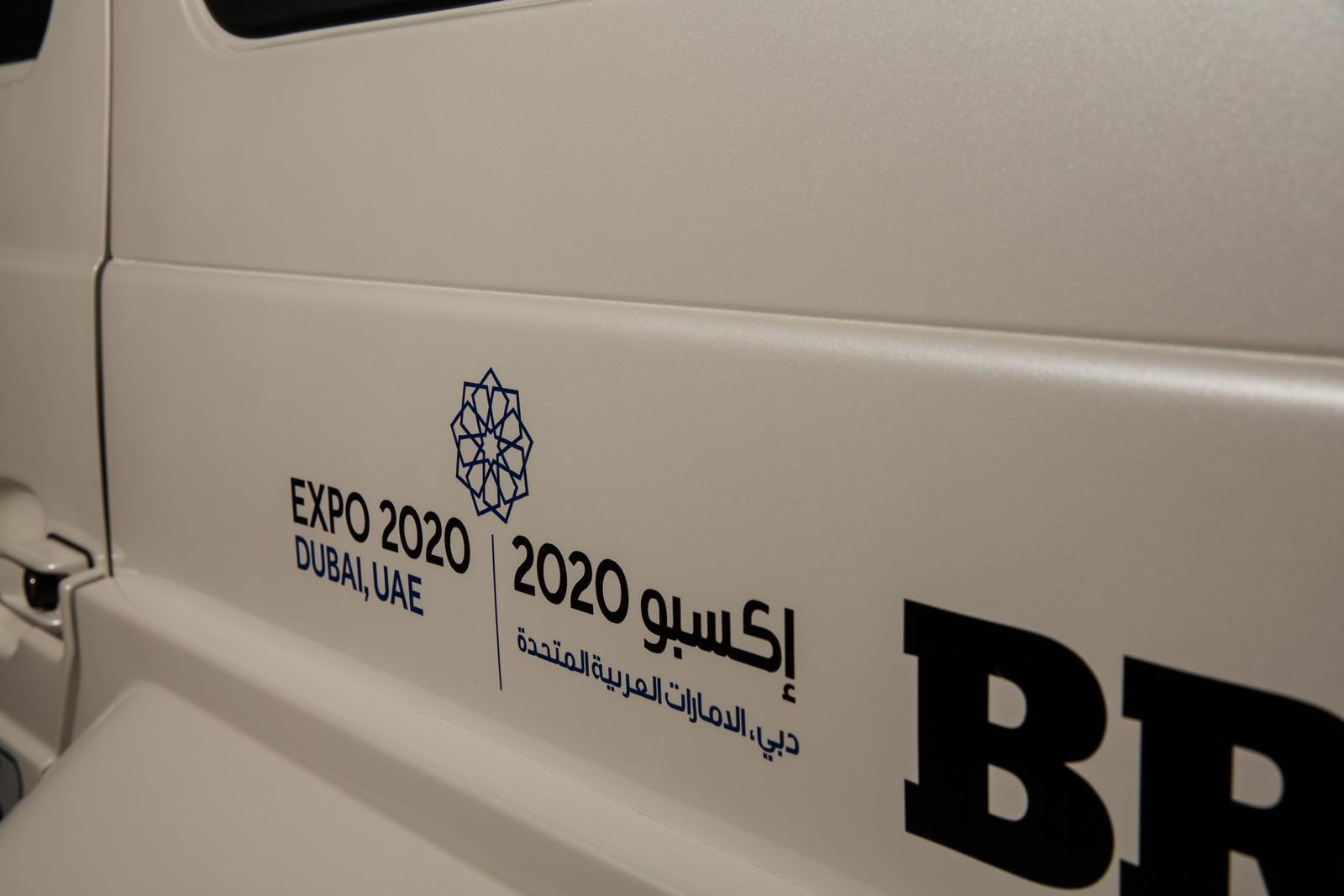 Foto de Brabus B63S–700 Widestar Policía Dubái (12/30)