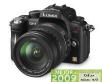 Panasonic Lumix GH1, mejor cámara Micro 4/3 de 2009