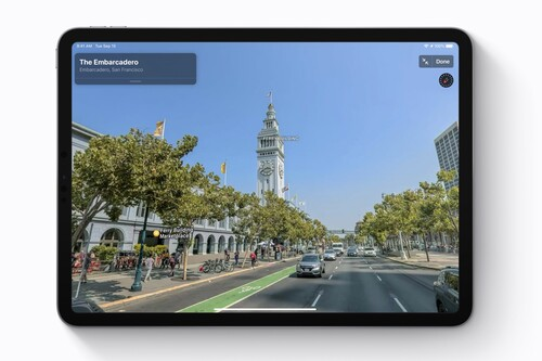 Apple ya está recogiendo datos para el Look Around de Apple Maps en España