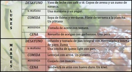 Tu dieta semanal con Vitónica (III)