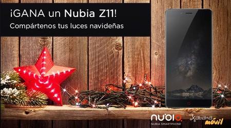 La foto más especial de las luces de Navidad ganará un Nubia Z11: participa en el concurso
