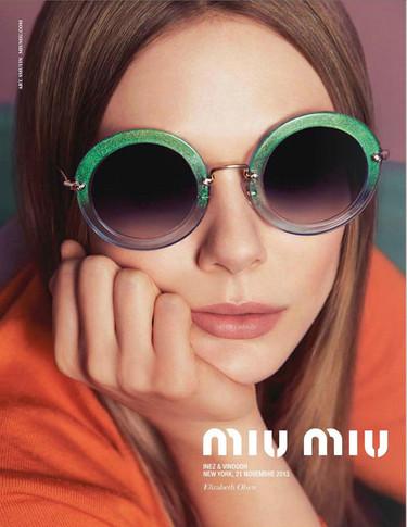¿Aún sin las gafas del momento? ¡Miu Miu eyewear Primavera-Verano 2014 es la solución!