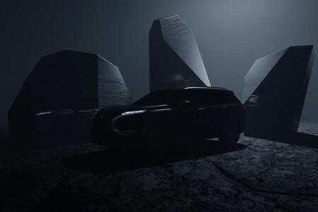 El nuevo Mitsubishi Outlander está al caer, pero ya se asoma en esta primera imagen