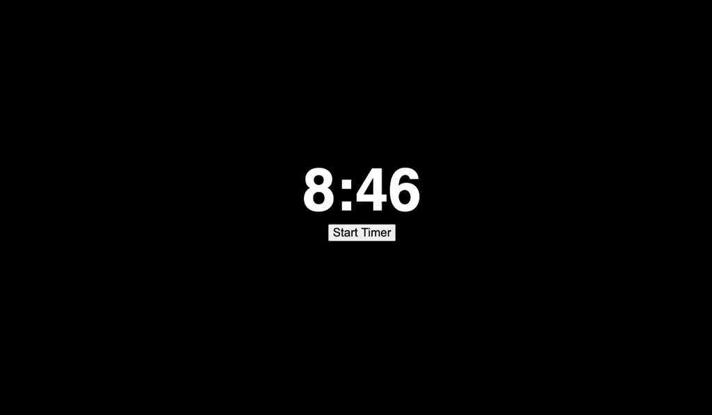 8 minutos, 46 segundos: una web que se está haciendo viral y muestra el tiempo que George Floyd tuvo una rodilla en su cuello