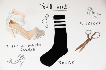 Vetements Diy Boots Socks Man Repeller V1