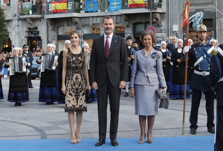 Letizia Premio Princesas De Asturias