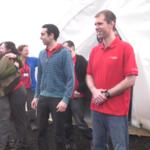 Estos seis voluntarios han estado un año aislados en una cúpula simulando un viaje a Marte