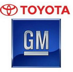 Toyota GM logo