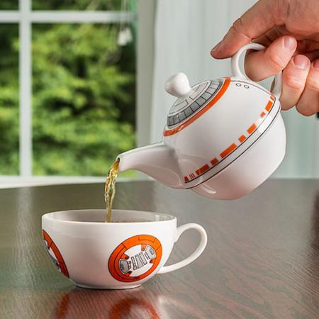 Este set para té de BB-8 vas a querer tenerlo en casa