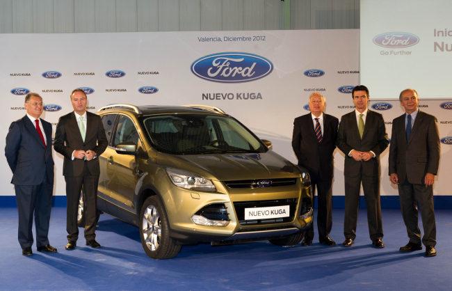 Ford Kuga Empieza la producción