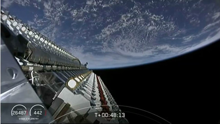 Starlink Satelites Espacio